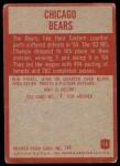 1965 Philadelphia #15   Bears Team Back Thumbnail