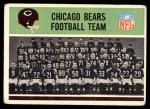 1965 Philadelphia #15   Bears Team Front Thumbnail
