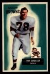 1955 Bowman #91  John Sandusky  Front Thumbnail