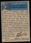 1956 Topps / Bubbles Inc Elvis Presley #16   Vacation Fun Back Thumbnail