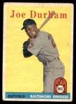 1958 Topps #96  Joe Durham  Front Thumbnail