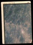 1969 Topps Man on the Moon #55 B  -  Neil Armstrong / Michael Collins / Edwin Aldrin First Men On The Moon Back Thumbnail
