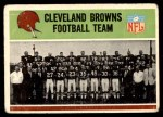 1965 Philadelphia #29   Browns Team Front Thumbnail