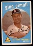 1959 Topps #418  Gino Cimoli  Front Thumbnail