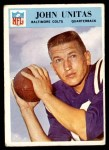 1966 Philadelphia #24  Johnny Unitas  Front Thumbnail