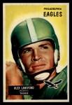 1955 Bowman #126  Alex Lansford  Front Thumbnail