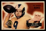 1955 Bowman #78  Bill Wade  Front Thumbnail