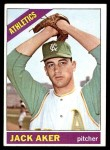 1966 Topps #287  Jack Aker  Front Thumbnail
