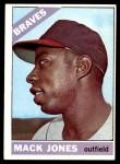 1966 Topps #446  Mack Jones  Front Thumbnail