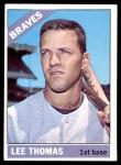 1966 Topps #408  Lee Thomas  Front Thumbnail