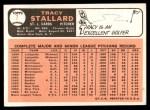 1966 Topps #7  Tracy Stallard  Back Thumbnail
