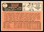 1966 Topps #317  Dalton Jones  Back Thumbnail