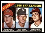 1966 Topps #216   -  Tony Oliva / Carl Yastrzemski / Vic Davalillo /  AL Batting Leaders Front Thumbnail