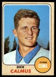 1968 Topps #427  Dick Calmus  Front Thumbnail