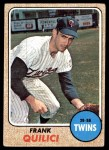 1968 Topps #557  Frank Quilici  Front Thumbnail