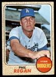 1968 Topps #88  Phil Regan  Front Thumbnail