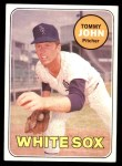 1969 Topps #465  Tommy John  Front Thumbnail