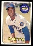 1969 Topps #512  Cleon Jones  Front Thumbnail