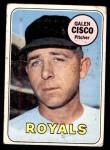 1969 Topps #211  Galen Cisco  Front Thumbnail
