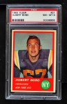 1963 Fleer #21  Hubert Bobo  Front Thumbnail