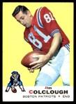 1969 Topps #8  Jim Colclough  Front Thumbnail