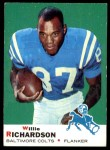 1969 Topps #5  Willie Richardson  Front Thumbnail