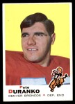 1969 Topps #182  Pete Duranko  Front Thumbnail