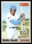 1970 Topps #318  Willie Smith  Front Thumbnail