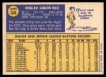 1970 Topps #606  Chico Ruiz  Back Thumbnail