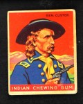 1933 Goudey Indian Gum #55  Gen. Custer   Front Thumbnail