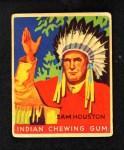1933 Goudey Indian Gum #61  Sam Houston   Front Thumbnail