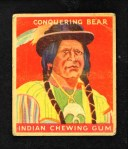 1933 Goudey Indian Gum #39  Conquering Bear   Front Thumbnail