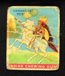 1933 Goudey Indian Gum #19   Camanchee Tribe  Front Thumbnail