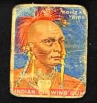1933 Goudey Indian Gum #3   Konzas Tribe  Front Thumbnail