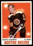 1970 Topps #7  Wayne Cashman  Front Thumbnail