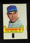 1966 Topps Rub Offs  Ed Kranepool  Front Thumbnail