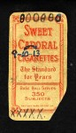 1909 T206 BAT Ed Willett  Back Thumbnail