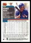 2000 Topps #28  Homer Bush  Back Thumbnail