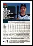 2000 Topps #111  Dan Wilson  Back Thumbnail
