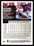 2000 Topps #127  Richard Hidalgo  Back Thumbnail
