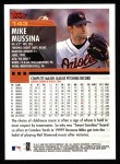 2000 Topps #143  Mike Mussina  Back Thumbnail