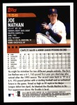 2000 Topps #156  Joe Nathan  Back Thumbnail