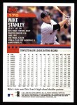 2000 Topps #176  Mike Stanley  Back Thumbnail