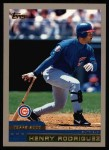 2000 Topps #191  Henry Rodriguez  Front Thumbnail