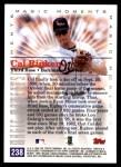 2000 Topps #238 D  -  Cal Ripken Magic Moments Back Thumbnail