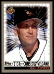 2000 Topps #238 C  -  Cal Ripken Magic Moments Front Thumbnail