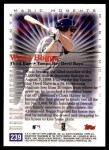 2000 Topps #239 E  -  Wade Boggs Magic Moments Back Thumbnail