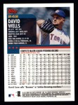 2000 Topps #242  David Wells  Back Thumbnail