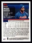 2000 Topps #248  Miguel Batista  Back Thumbnail