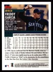 2000 Topps #253  Freddy Garcia  Back Thumbnail